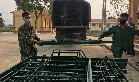 Điện Biên: Đảm bảo cơ sở vật chất phục vụ cách ly y tế tập trung