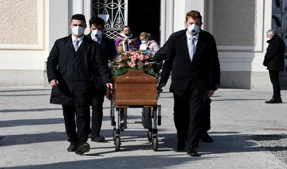 Cập nhật tình hình dịch COVID-19 sáng 29/3: Hơn 10.000 người tử vong tại Ý, hơn 123.000 ca nhiễm tại Mỹ
