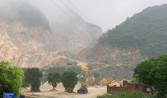 Hà Nam: Sập mỏ đá Công ty CP khai thác chế biến khoáng sản Thông Đạt, 2 người tử vong