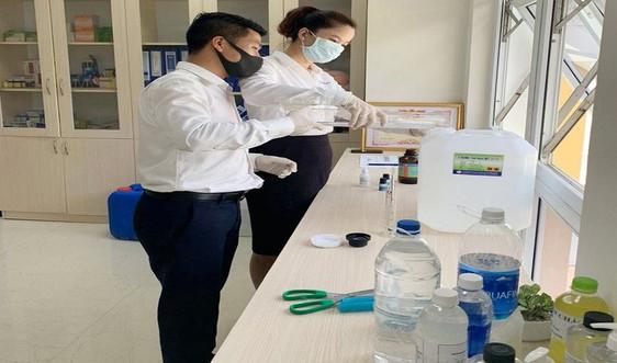 Chế tạo dung dịch rửa tay sát khuẩn phòng dịch Covid - 19