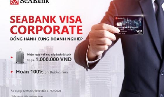 Nhận ngay vali sành điệu khi mở thẻ SeABank visa corporate