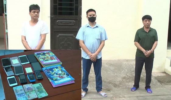 Thanh Hóa: Triệt phá đường dây đánh bạc dưới hình thức lô đề