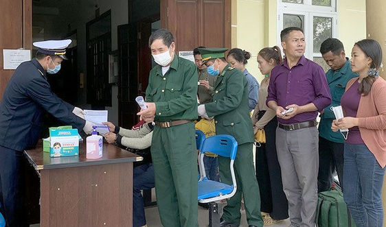 Bộ đội Biên phòng Điện Biên thành lập 60 tổ tuần tra, kiểm soát, chốt chặn trên biên giới