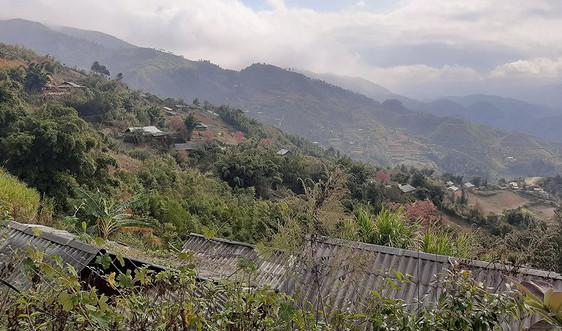 Mù Cang Chải (Yên Bái): Trên 200 hộ nằm trong khu vực sạt lở đất