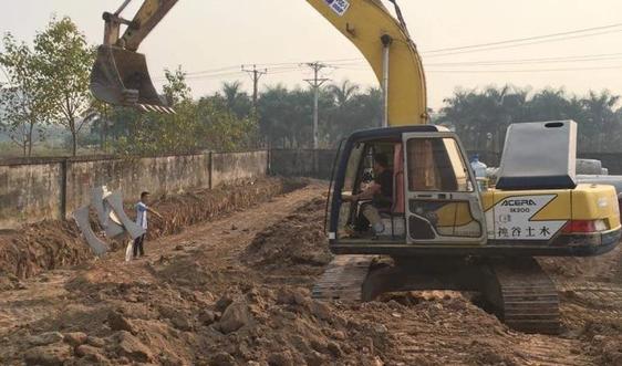 Dự án Khu nhà ở dịch vụ xã Cổ Bi, Gia Lâm (Hà Nội):  Chủ đầu tư chưa thực hiện việc huy động vốn