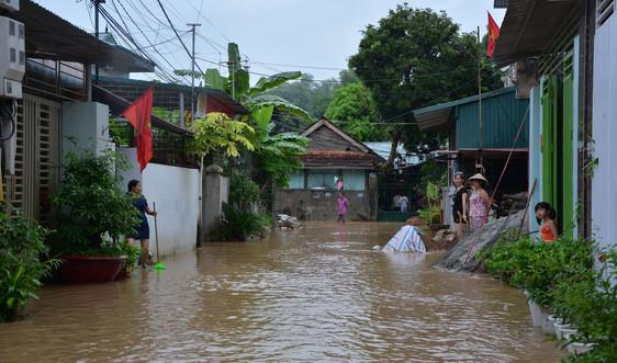 Điện Biên: Cảnh báo lũ quét, sạt lở và ngập úng cục bộ