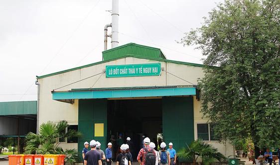 Hải Phòng: Lò đốt rác thải y tế Tràng Cát vẫn dư công suất