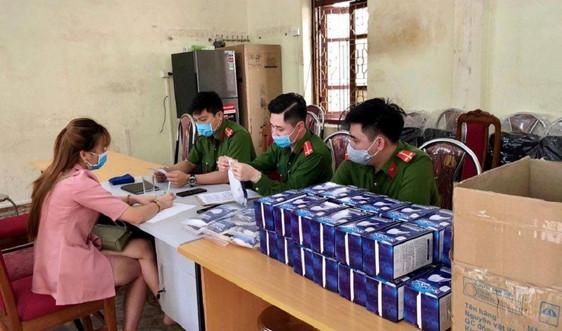 TP Sơn La: Bắt giữ 1 đối tượng làm giả 1.360 khẩu trang y tế