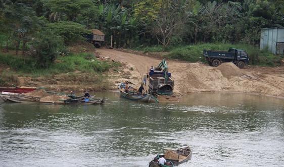 Quảng Ngãi: Điều chỉnh, bổ sung Kế hoạch đấu giá quyền khai thác cát, sỏi lòng sông
