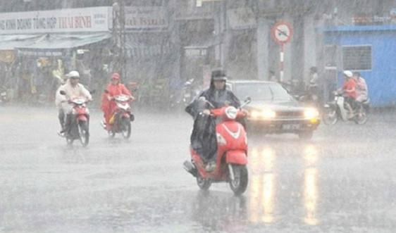 Từ 14-24/5, cả nước có mưa dông, đề phòng thời tiết nguy hiểm