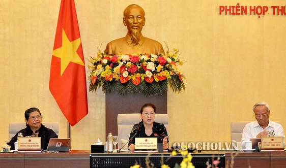 UBTVQH cho ý kiến về việc chuẩn bị kỳ họp thứ 9, Quốc hội khóa XIV
