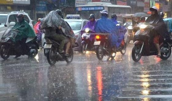 Thời tiết ngày 16/5: Bắc Bộ và Bắc Trung Bộ có mưa dông diện rộng từ chiều tối nay