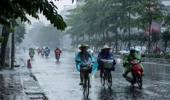 Dự báo thời tiết ngày 18/5:Cảnhbáo mưa dông trên khu vực nội thành Hà Nội