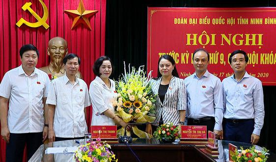 Bí thư Tỉnh ủy Ninh Bình được bầu làm Trưởng đoàn Đại biểu Quốc hội