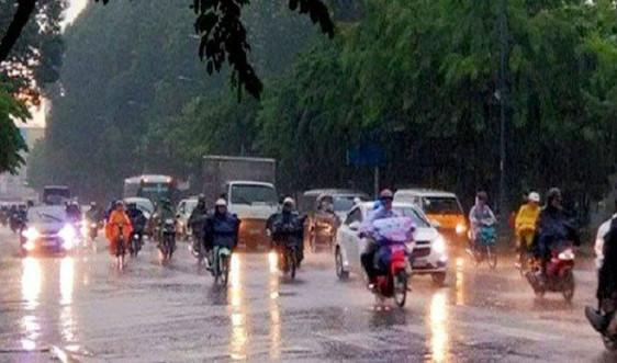 Dự báo thời tiết ngày 22/5: Các tỉnh Bắc Bộ và Bắc Trung Bộ chiều tối có mưa dông