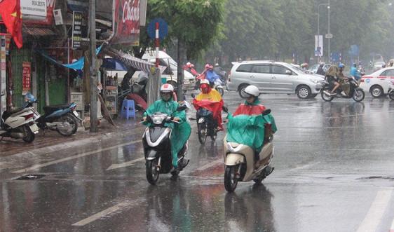 Dự báo thời tiết ngày27/5:Bắc Bộ có mưa lớn diện rộng