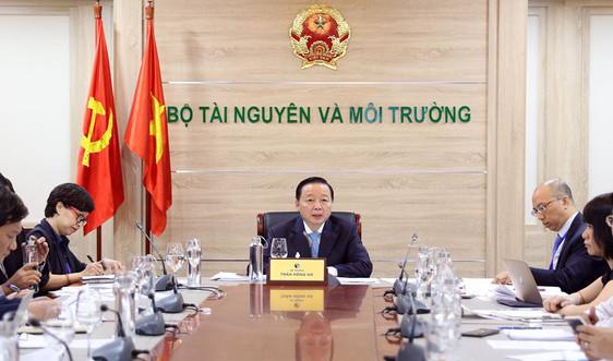 Việt Nam – Lào hợp tác chặt chẽ trong lĩnh vực tài nguyên và môi trường