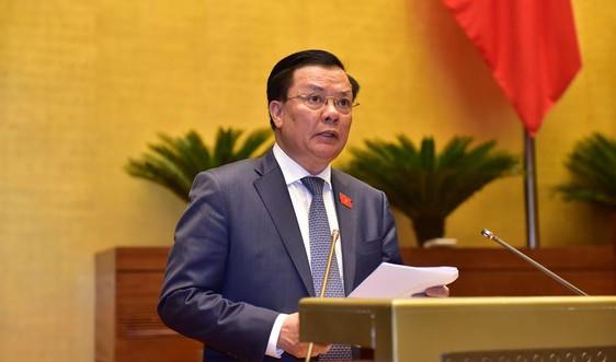 Trình Quốc hội dự thảo Nghị quyết về một số cơ chế, chính sách tài chính - ngân sách đặc thù với Hà Nội