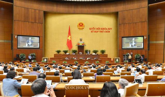 Quốc hội thảo luận dự thảo Nghị quyết về một số cơ chế, chính sách tài chính – ngân sách đặc thù đối với Hà Nội