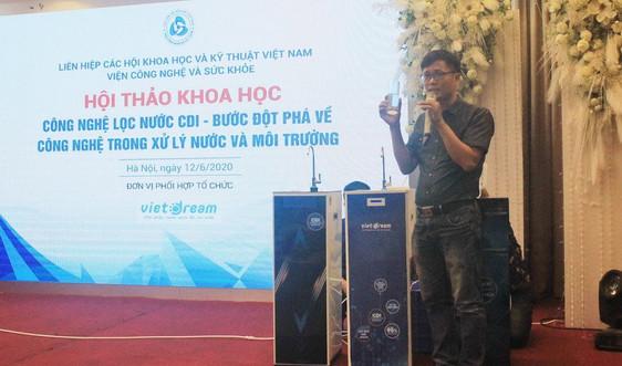 Ra mắt Ban Quản lý dự án nước sạch nông thôn và công nghệ lọc nước mới