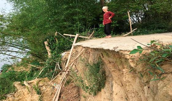 Thanh Hóa: Xử lý cấp bách chống sạt lở bờ sông Chu