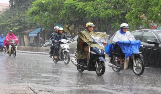 Dự báo thời tiết ngày 15/6: Cảnh báo mưa dông trên khu vực nội thành Hà Nội