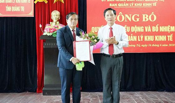 Công quyết định bổ nhiệm Trưởng Ban Quản lý Khu kinh tế tỉnh Quảng Trị