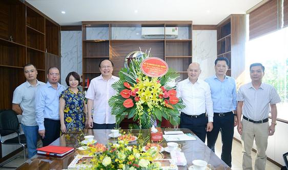 Thứ trưởng Lê Công Thành chúc mừng các cơ quan báo chí ngành TN&MT nhân kỷ niệm 95 năm ngày Báo chí Cách mạng Việt Nam