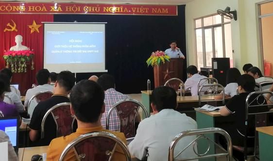 Sở TN&MT Cao Bằng: Giới thiệu hệ thống thông tin đất đai trên phần mềm VNPT-iLIS