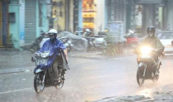 Bắc Bộ sắp đón mưa dông, cẩn trọng với thời tiết nguy hiểm