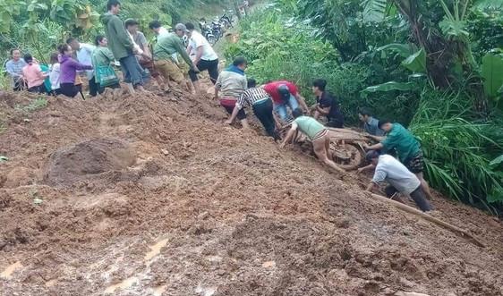 Lai Châu: Cảnh báo nguy cơ sạt lở đất trên phạm vi toàn tỉnh