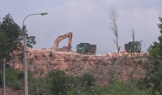 Công ty Việt Tiên Sơn Địa Ốc: Tận thu khoáng sản trái phép