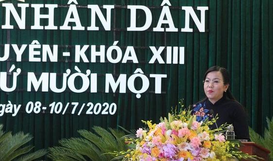 Khai mạc kỳ họp thứ 11 HĐND tỉnh Thái Nguyên khóa XIII, nhiệm kỳ 2016-2021