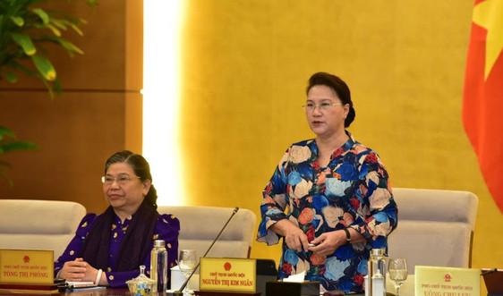 Chủ động chuẩn bị các dự án Luật trình tại Kỳ họp thứ 10