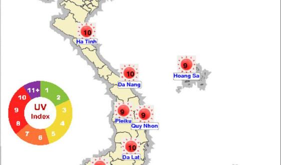 Bắc Bộ nắng nóng gay gắt gia tăng trong mấy ngày tới