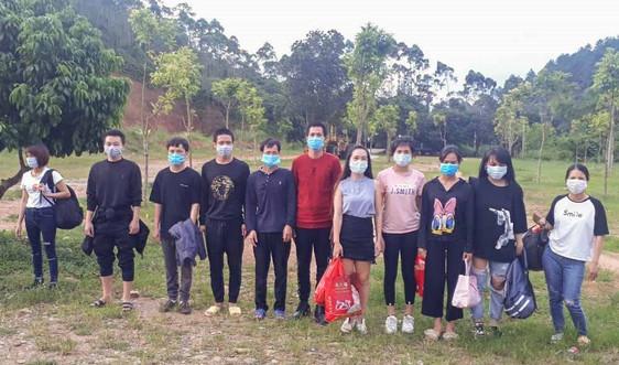 Quảng Ninh: Đưa đi cách ly tập trung 11 đối tượng nhập cảnh trái phép