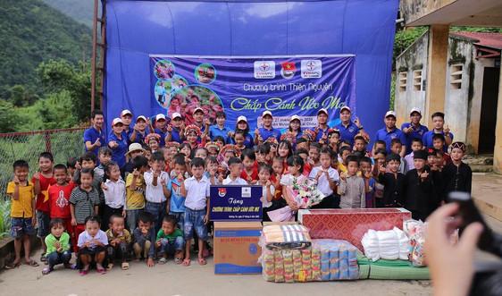 """Đoàn thanh niên PC Hà Nam tổ chức chương trình thiện nguyện với chủ đề """"Chắp cánh ước mơ"""""""