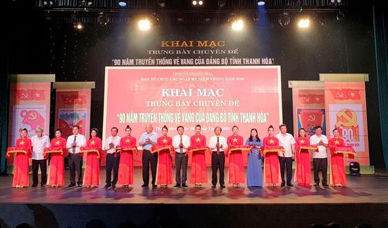 Trưng bày hơn 2.400 tư liệu, hiện vật về Đảng bộ tỉnh Thanh hóa