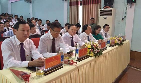 Thứ trưởng Lê Minh Ngân dự Khai mạc Đại hội đại biểu Đảng bộ huyện Tuyên Hóa, Quảng Bình lần thứ XXI