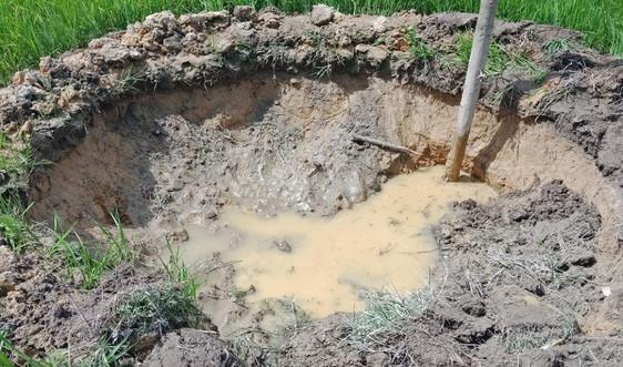 Vụ khai thác mỏ đá ở Phong Điền (Thừa Thiên Huế) gây sụt lún: Hỗ trợ cho dân và tìm biện pháp