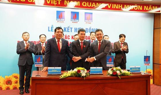 PV GAS, PTSC, PV Power, PVChem ký kết các hợp đồng thỏa thuận hợp tác đầu tư