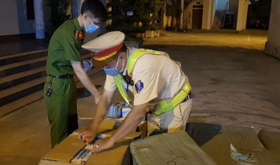 Hà Tĩnh: Phát hiện, thu giữ hơn 50 ngàn khẩu trang không rõ nguồn góc