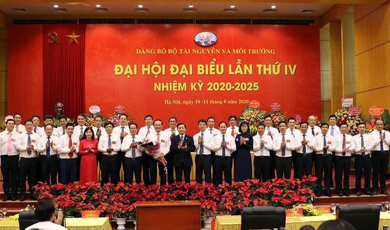 Thứ trưởng Lê Công Thành tái đắc cử Bí thư Đảng ủy Bộ Tài nguyên và Môi trường nhiệm kỳ 2020-2025