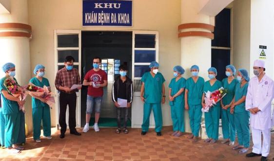 Quảng Ngãi: Hai bệnh nhân Covid-19 đã được chữa khỏi bệnh