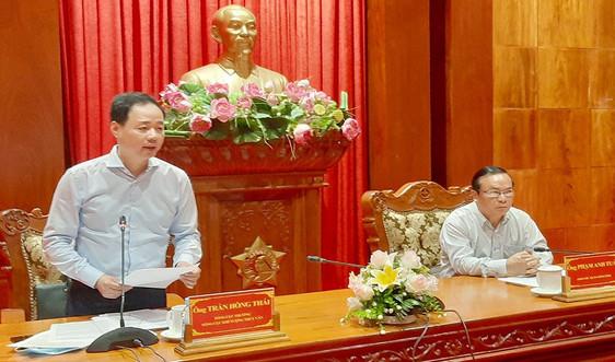 Kiểm tra công tác phòng, chống thiên tai tại Tiền Giang