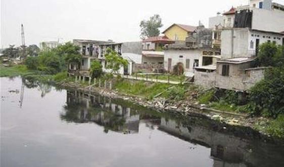 Lưu vực sông Nhuệ - Đáy: Ô nhiễm nặng do nước thải sinh hoạt