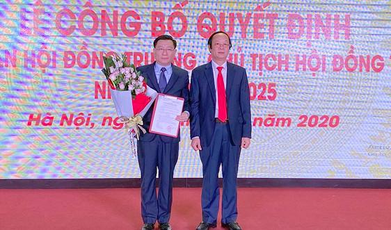 PGS.TS Hoàng Anh Huy làm Chủ tịch Hội đồng Trường Đại học TN&MT Hà Nội nhiệm kỳ 2020 - 2025
