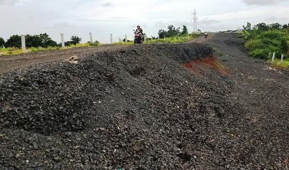 Gia Lai: Đường tránh 250 tỷ đồng vẫn tan hoang sau một năm bị sụt lún