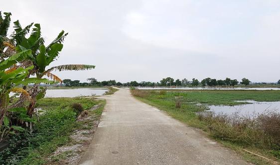 Thanh Hóa: Hỗ trợ xi măng cho 77 xã xây dựng kênh mương nội đồng, rãnh thoát nước khu dân cư