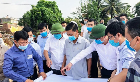 Hải Phòng: Cập nhật tiến độ thực hiện một số dự án trọng điểm tại quận Lê Chân